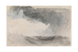 A Storm at Sea Giclee Print by Joseph Mallord William Turner