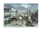 A Street in Denver, Colorado, USA, C1880 Giclee Print