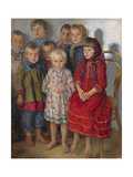 Admissions Day Giclee Print by Nikolai Petrovich Bogdanov-Belsky