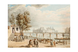 View of Paris Giclee Print by Alexander Pavlovich Briullov
