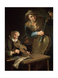 The Musicians, Late 17th or 18th Century Giclee Print by Giacomo Francesco Cipper