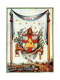 The Masonic Values, 18th Century Giclee Print