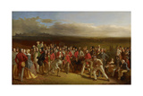 The Golfers, 1847 Giclee Print by Charles Lees