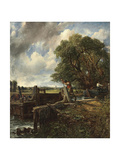 The Lock Giclee Print by John Constable