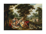 Arcadia. the Golden Age Giclee Print by Frans Francken the Younger