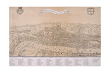 Map of London, C1560 Giclee Print