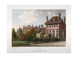 View of New Inn, Wych Street, Westminster, London, 1800 Giclee Print by Samuel Ireland