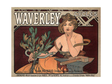 Waverley Cycles, 1896 Giclee Print by Alphonse Mucha