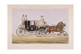 Sir John Gerard's Chariot, 1844 Giclee Print