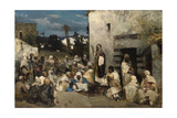 The Sermon at Capernaum Giclee Print by Vasilii Kotarbinsky