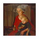 The Poverty, 1925 Giclee Print by Boris Dmitryevich Grigoriev