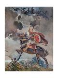 Horseman Giclee Print by Nikolai Nikolayevich Karasin
