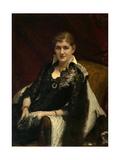 Portrait of Y.A. Voeykova, 1882 Giclee Print by Ivan Nikolayevich Kramskoi