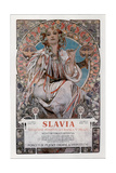 Slavia, 1907 Giclee Print by Alphonse Mucha
