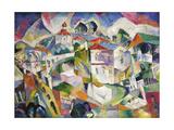 Cubist Cityscape, 1910S Giclee Print by Aristarkh Vasilyevich Lentulov