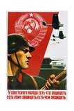 The Soviet People Know How to Defend, 1937 Giclee Print