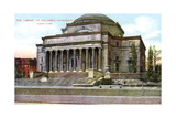 Columbia University Library, New York, USA, C1900s Giclee Print