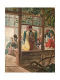 A Barber Shop, Ca. 1849 Giclee Print by Karl Pavlovich Briullov