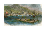 Montreal from the St Lawrence River, Quebec, Canada, C1880 Giclee Print