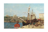 The Golden Horn, 1876 Reproduction procédé giclée par Alberto Pasini