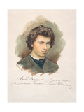 Self-Portrait, 1866 Giclee Print by Ilya Yefimovich Repin