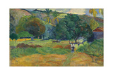 The Valley (Le Vallo), 1892 Giclee Print by Paul Gauguin