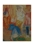 Women, 1916 Giclee Print by Boris Dmitryevich Grigoriev