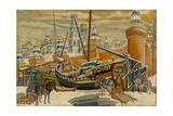 Kremlin, 1927 Giclee Print by Rimma Nikititchna Brailovskaya