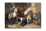 The Expulsion of Heliodorus from the Temple, C1650 Giclee Print by Bernardo Cavallino