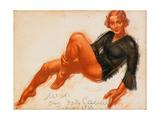 Mila, 1933 Giclee Print by Alexander Yevgenyevich Yakovlev