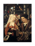 The Spectacles Seller Giclee Print by Jacob Cornelisz van Oostsanen