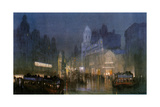The Grand Canal of Tottenham Court Road'. C1900-1940 Giclee Print by Donald Maxwell