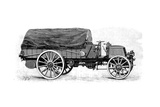 Army Truck by Daimler, with 4 Cylinder 12 Hp Engine, 1904 Giclee Print