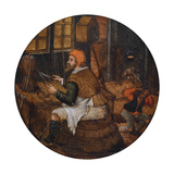 Arrow Maker Reproduction procédé giclée par Pieter Brueghel the Younger