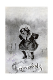 French Postcard, C1900 Giclee Print