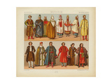 Russian Dress, 1880 Giclee Print by Daniel Urrabieta Vierge