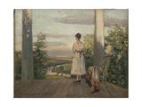 Country House of Anton Chekhov at Melikhovo, 1910S Giclee Print by Sergei Arsenyevich Vinogradov