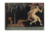 Bacchanal Scene, 1914 Giclee Print by Nikolai Petrovich Feofilaktov