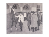 Horse Dealers at the Barbican, London, C1918 Giclee Print by Robert Polhill Bevan