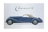 Poster Advertising Mercedes-Benz Cars, 1939 Giclee Print