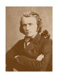 Johannes Brahms (1833-189), 1853 Giclee Print