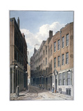 View of Bucklersbury, City of London, C1810 Giclee Print by George Shepherd