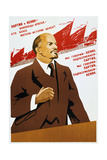 Russian Communist Party Poster, 1940 Giclee Print