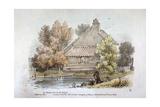 View at Shepherd's Bush, Hammersmith, London, 1831 Giclee Print by George Hanley