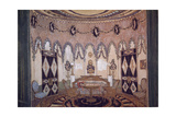 Stage Design for the Theatre Play Two Brothers by M. Lermontov, 1915 Giclee Print by Alexander Yakovlevich Golovin