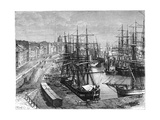 Montreal, Canada, 19th Century Giclee Print