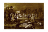 Peter II in Peterhof Giclee Print by Adolf Charlemagne