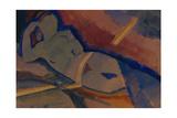 Nude, 1920 Giclee Print by Nikolai Pavlovich Ulyanov