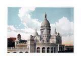 Basilica of the Sacre Coeur, Paris, C1900 Giclee Print