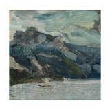 Lake Traun with Mountain Sleeping Greek, 1907 Giclee Print by Richard Gerstl